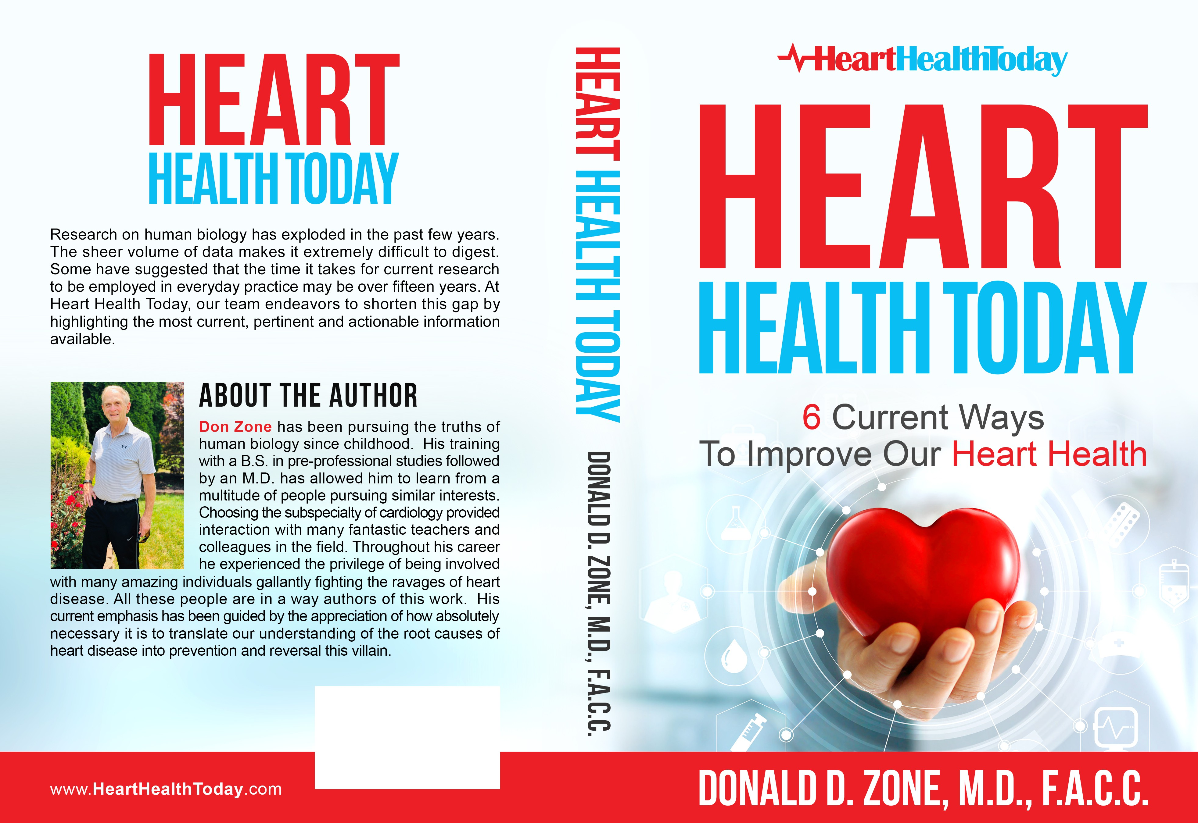 change picture on the back cover of Heart Health Today