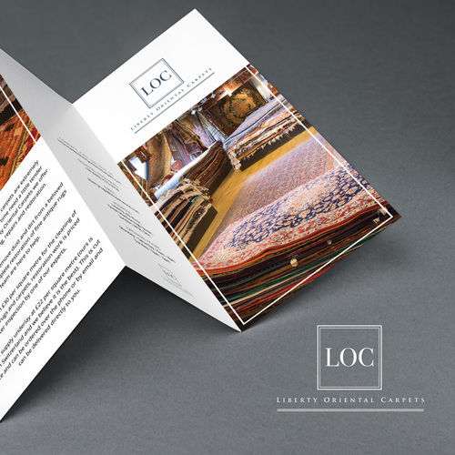 Brochure required for major London based Oriental Rug company