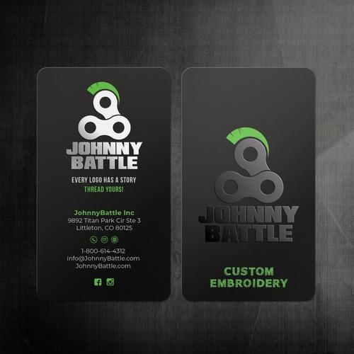 UV spot Business card