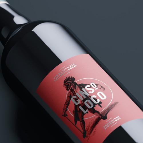 Cinso Loco red wine