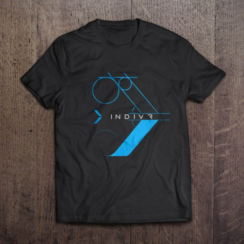 T-shirt mockup for drone startup