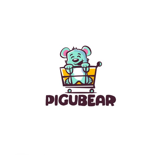 Logo concept for kids product store