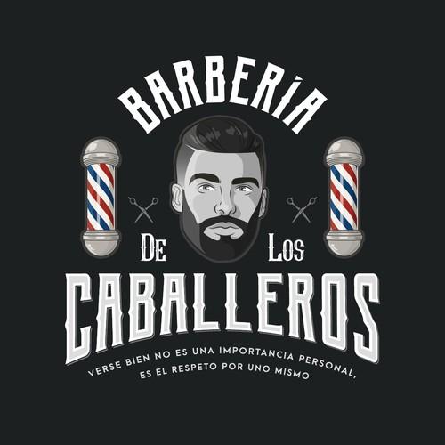 Logo for a Barbershop
