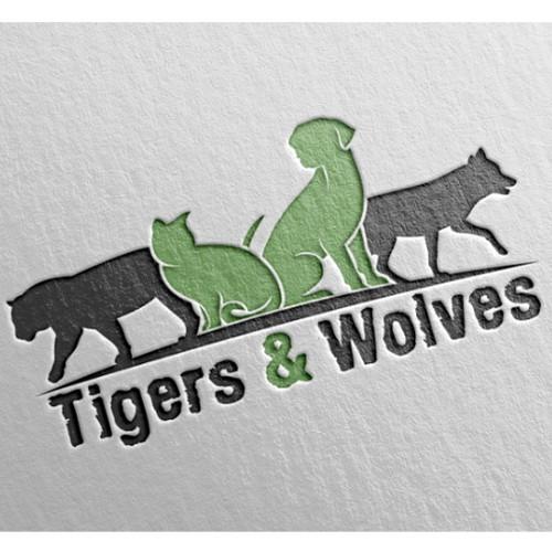 Logo design for healthy, natural animal food
