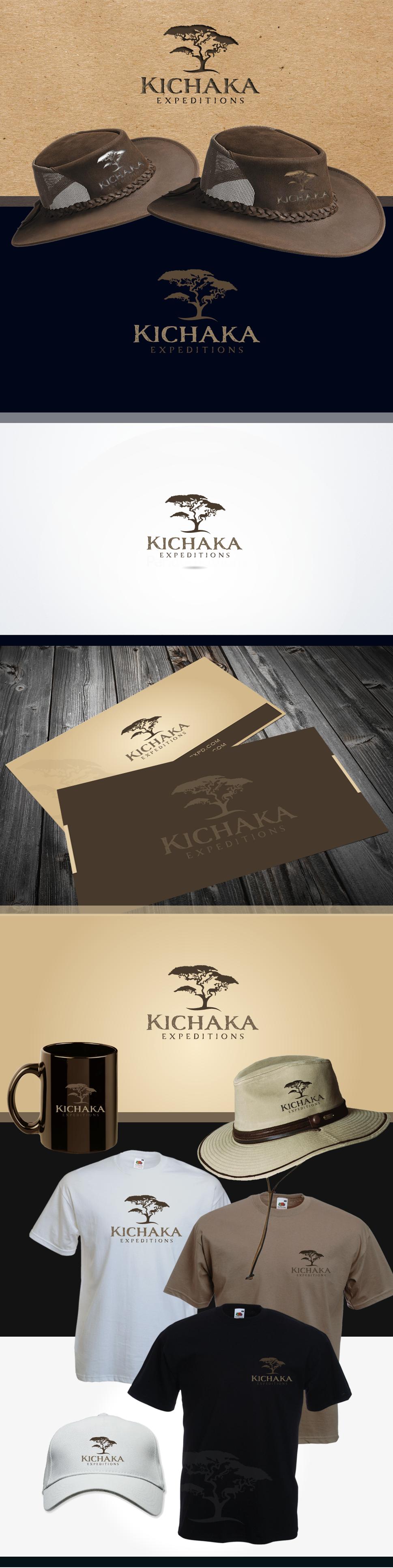 logo for Kichaka Expeditions! A walking safari company in Tanzania, Africa!!