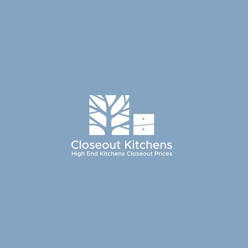 Closeout Kitchens logo design