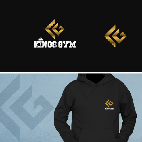 Logo concept for KINGS GYM
