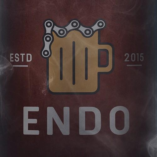 Logo for ENDO Brewery