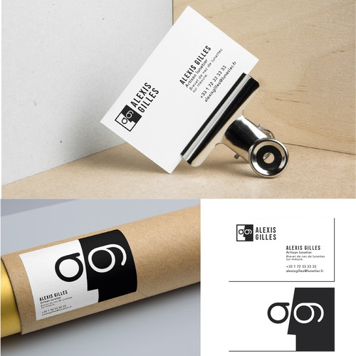 Branding pour un artisan lunetier