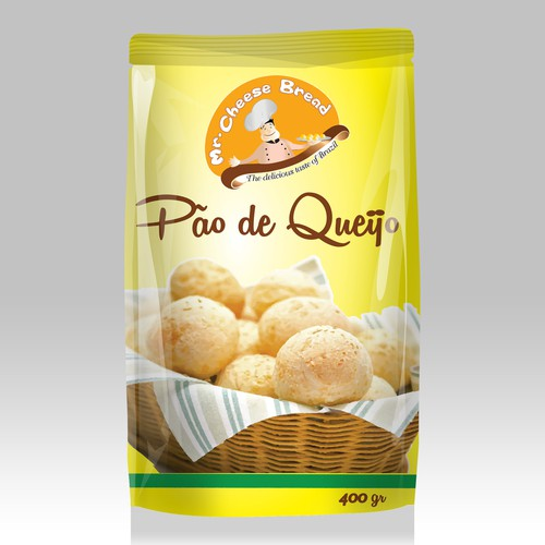 Create eye-catching design for Mr.Cheese bread- a Brazilian company!