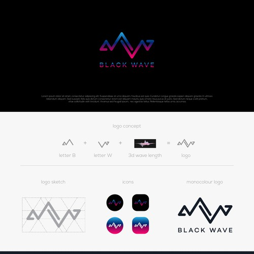 Design a jaw dropping logo for a clothing and media brand.
