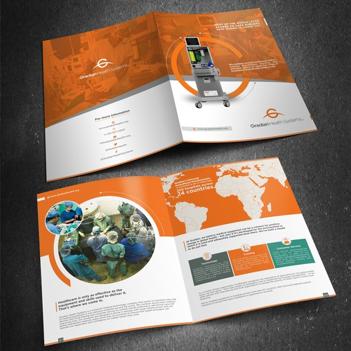 Global health social enterprise looking to revamp brochure & marketing materials