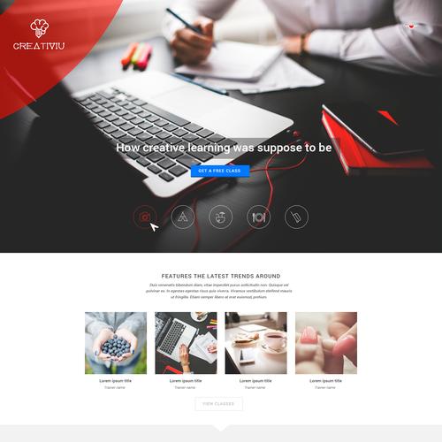 Webpage for CreativIU