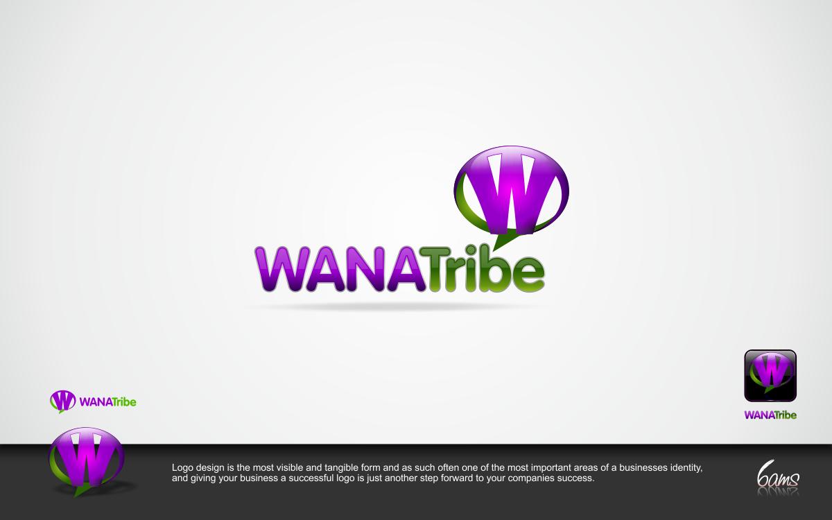Create the next logo for WANA Tribe