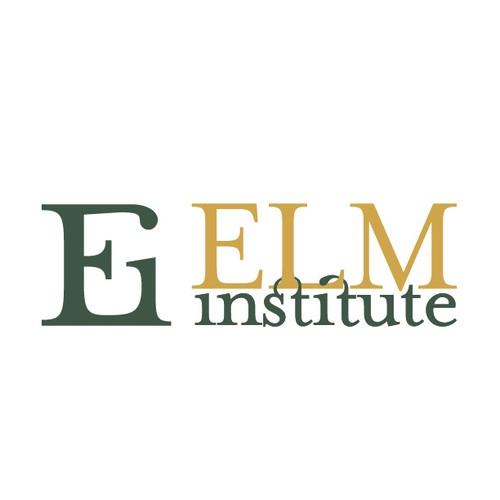 Create sophisticated logo for new elite university institute named ElmInstitute