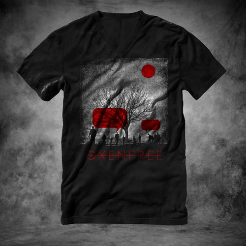 Videogame tie-up T-shirt