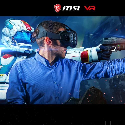 MSI VR design
