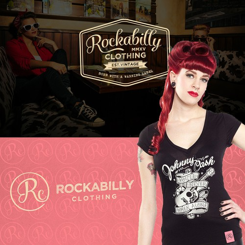 Logo for Rockabilly Clothing