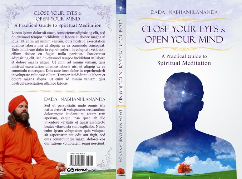 The Monk Dude needs a classy, original meditation book cover.