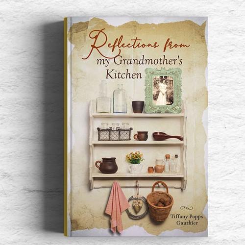 book cover vintage design