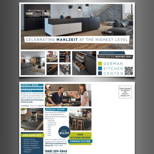 Mailer Postcard German Kitchen Center