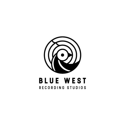 Logo for a recording studio
