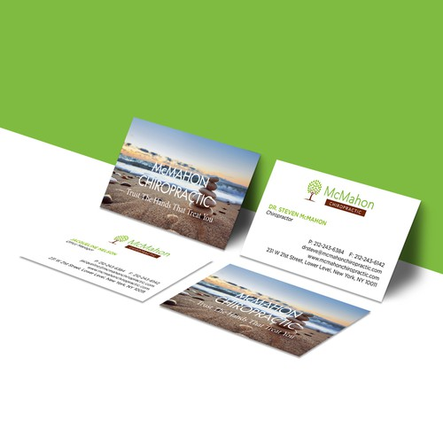 Business Cards for McMahon Chiropractic