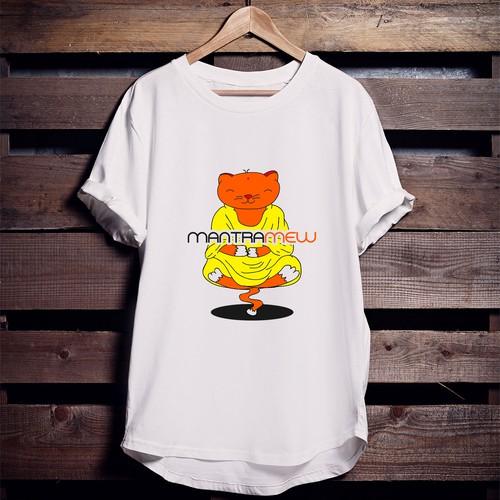 Mantra Mew T shirt Design