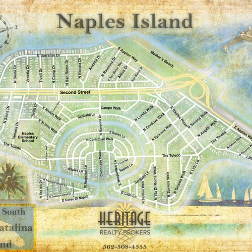 Create a winning design for Naples Isalnd