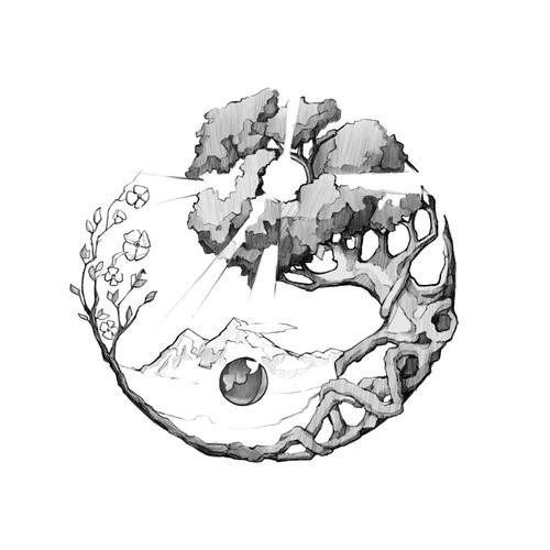 Yin & Yang/Four Seasons Tattoo