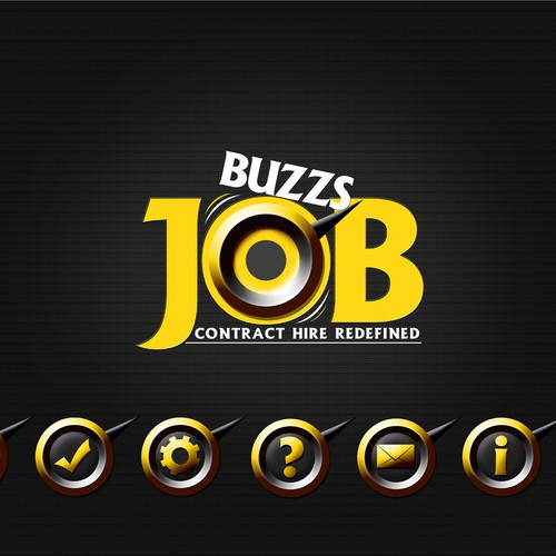 Logo for A Job Portal with A Lot of Buzz