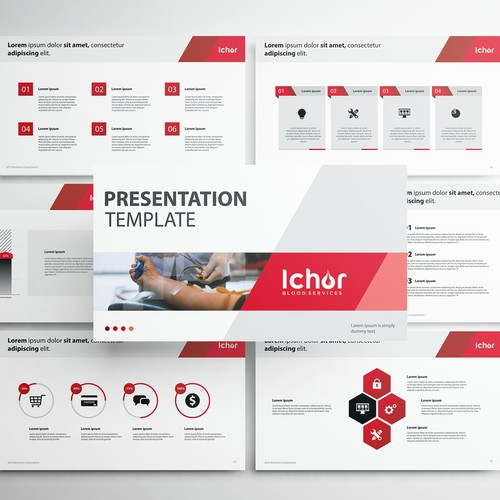 Powerpoint Presentation Template for Ichor