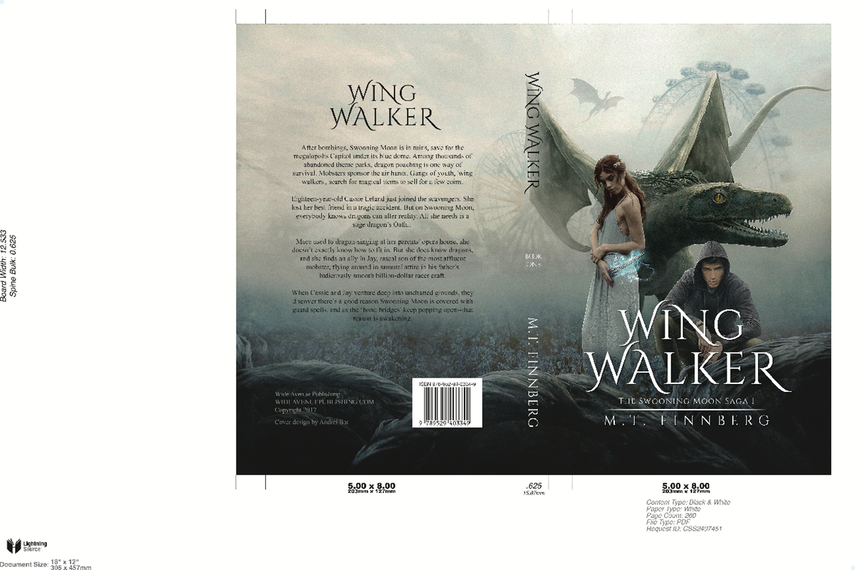 Hard cover for Wing Walker