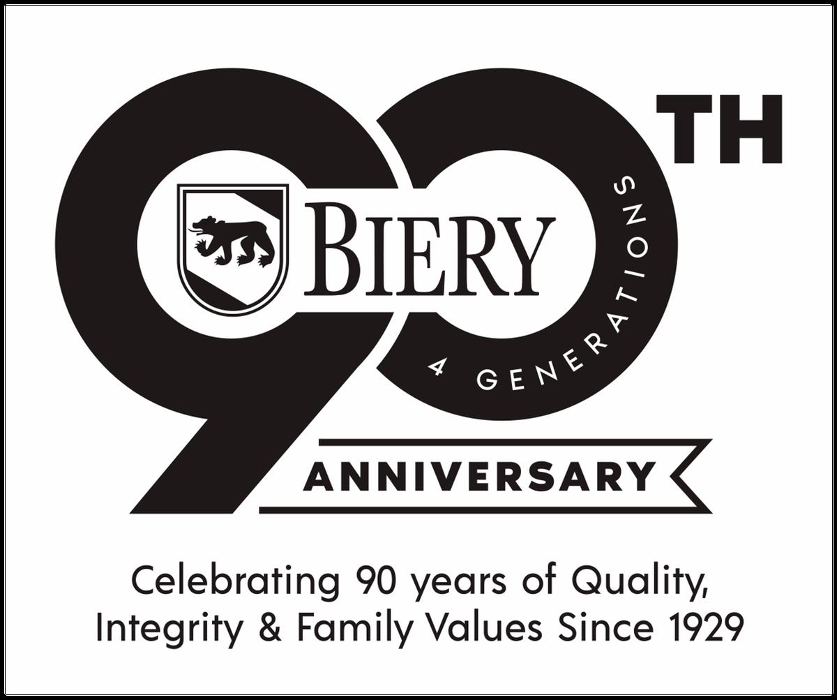 90th logo tagline