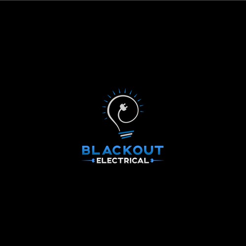 Logo for Blackout Electrical
