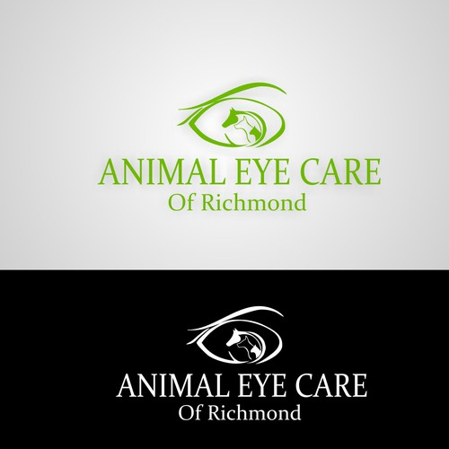 We need a perfect logo for veterinarians who only work on eyeballs!!