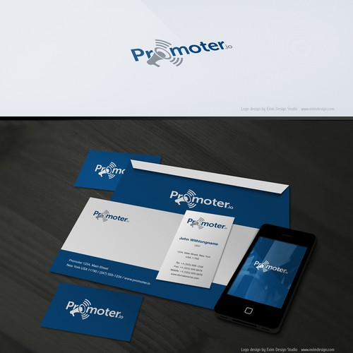 *** GUARANTEED *** Logo and business card for Promoter (Promoter.io)