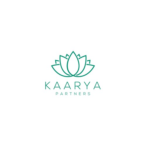 Bold Logo concept for Kaarya Partners