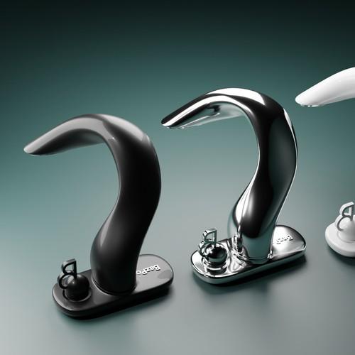 3D concept design for a unique faucet