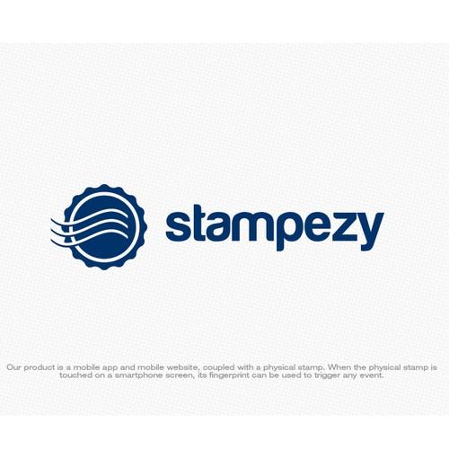 Creative logo design for innovative mobile app - Stampezy