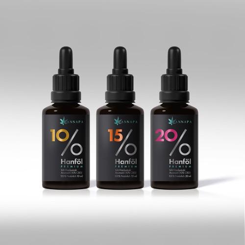 CBD Öl Label Design gesucht