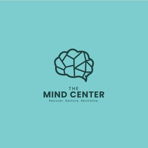Logo concept for The Mind Center