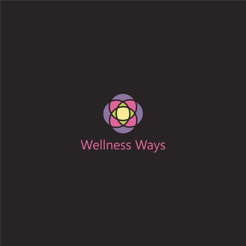 Health and wellness company logo