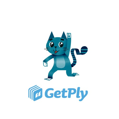 Mascot design for GetPly