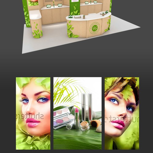 Bring Glamour to Our New Trade Show Booth