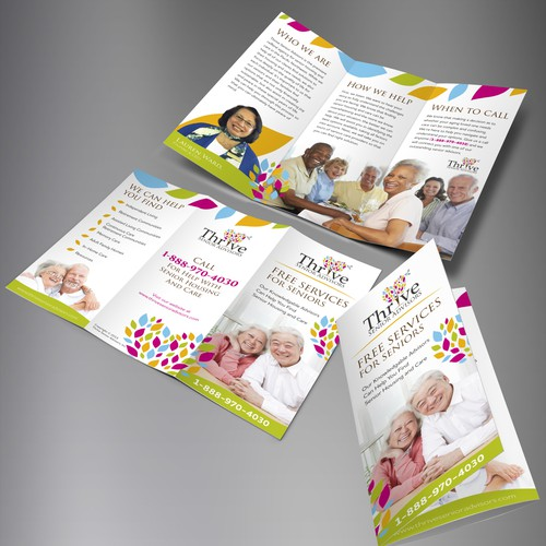 Thrive Senior Advisors Trifold brochure