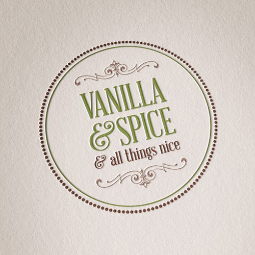 New logo and business card wanted for Vanilla & Spice
