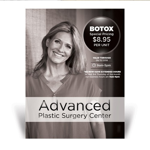 Newspaper ads for Plastic Surgery
