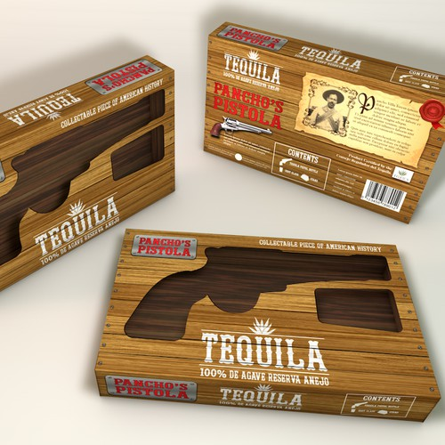 Redesign of Tequila Product: Need amazing box packaging