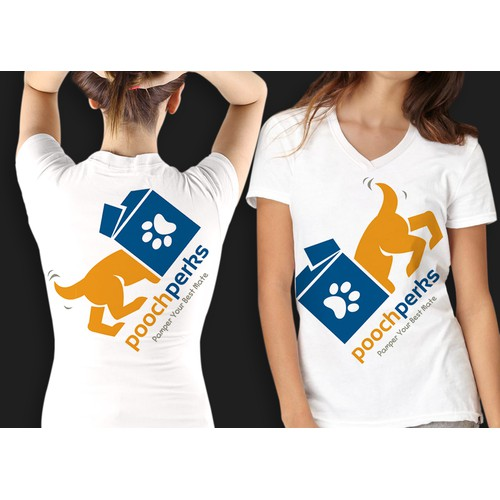 Design an amazing shirt for an online dog business